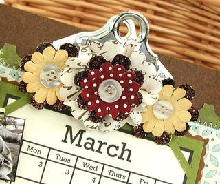 Standing Clipboard Calendar_Pink Pineapple_Sneak Peak