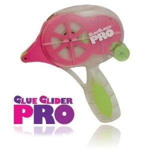 Glue glider